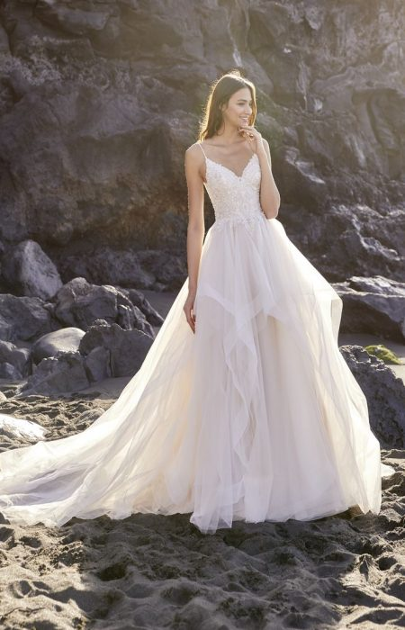 Hochzeitskleid Princess form _ A-Linie