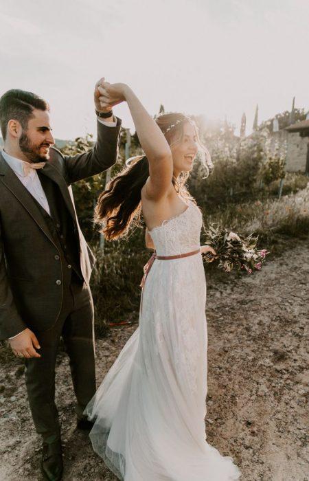 Hochzeitskleider zum tanzen